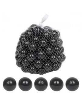 100pcs 5.5cm Fun Soft Plastic Ocean Ball Swim Pit Toys Baby Kids Toys black