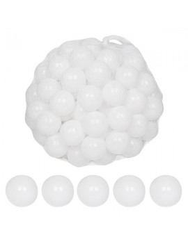 100pcs 5.5cm Fun Soft Plastic Ocean Ball Swim Pit Toys Baby Kids Toys White