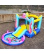LEADZM LZ-104 Octopus Inflatable Castle with Water Function 420D Oxford Cloth   840D Jumping Surface (Including Fan)