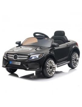 12V Kids Ride On Car 2.4GHZ Remote Control LED Lights Black