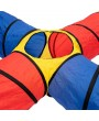 4-way Play Tunnel Folding Portable Playpen Tent Play Yard