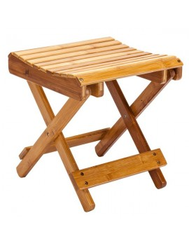 [US-W]Children Multi-function Collapsible Bamboo Stool